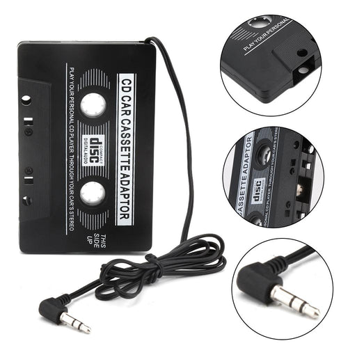 Auto Cassette Adapter naar 3,5mm Jack connector AUX