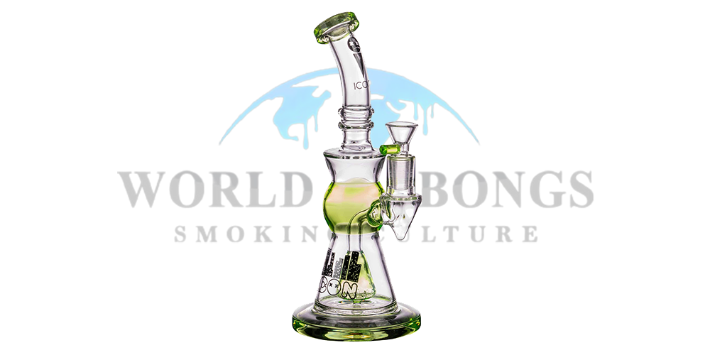 Icon Slyme Accented Cone Perc Bong