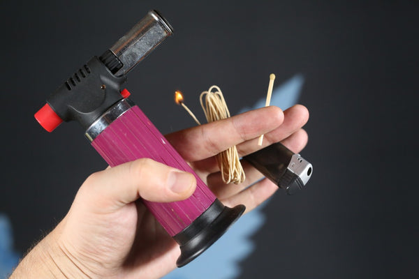 Torch, Lighter or Wick for Fire