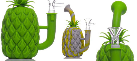 Pineapple Silicone Bong