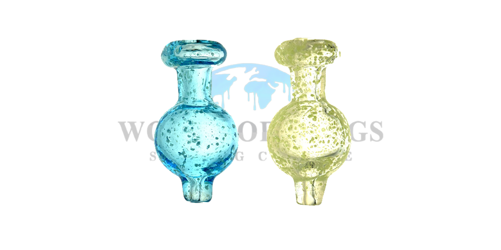 Glow Speckled Ball Carb Cap