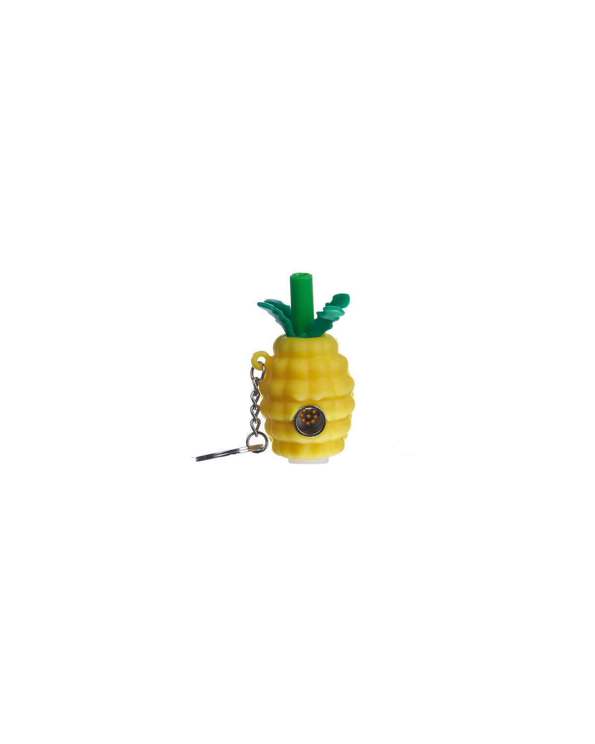 Pineapple Pipe Keychain