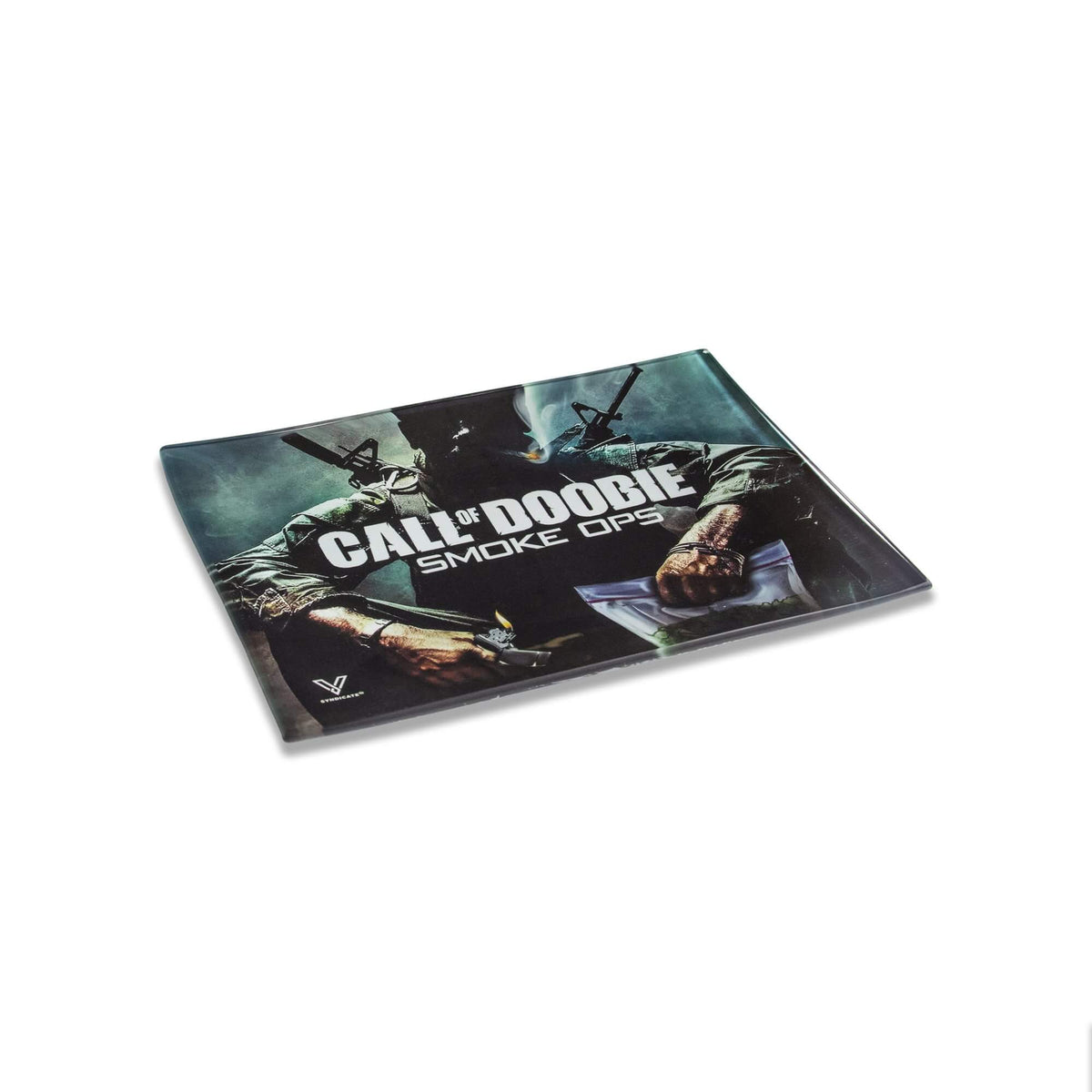 Call of Doobie Glass Tray - V Syndicate