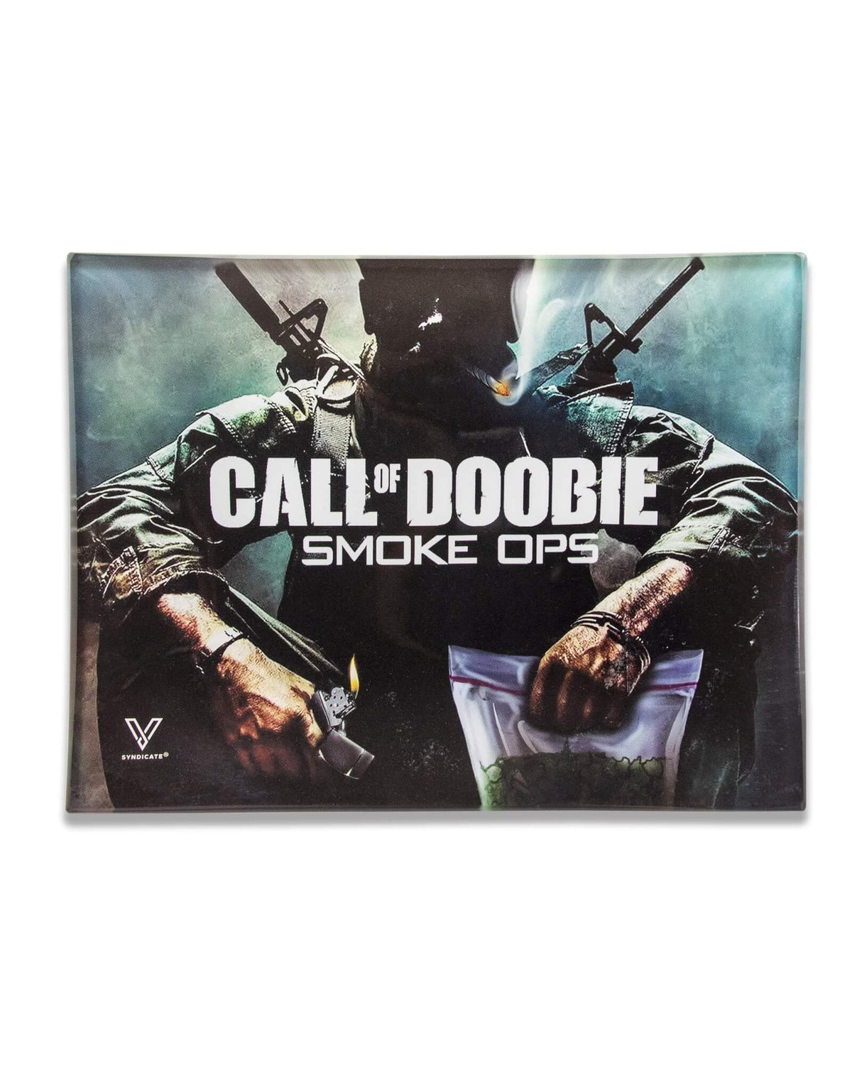 Call of Doobie Small Glass Tray