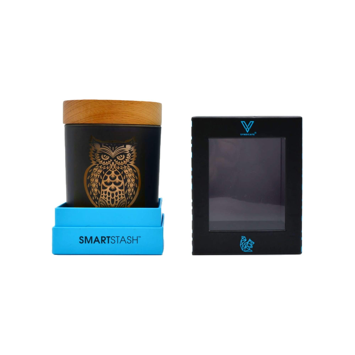 Owllusion Smart Stash Orange - V Syndicate