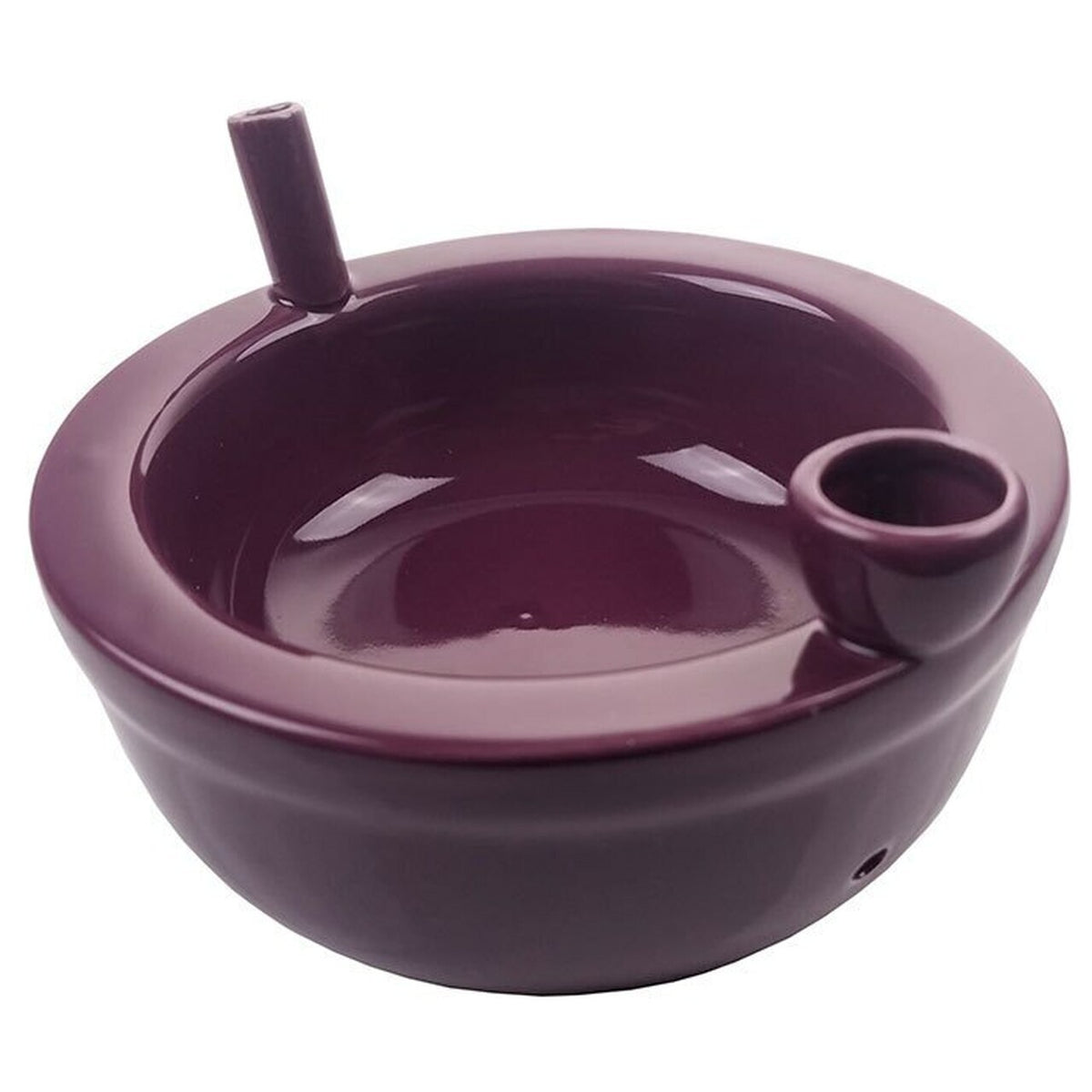 Cereal Bowl Pipe Roast & Toast - Purple