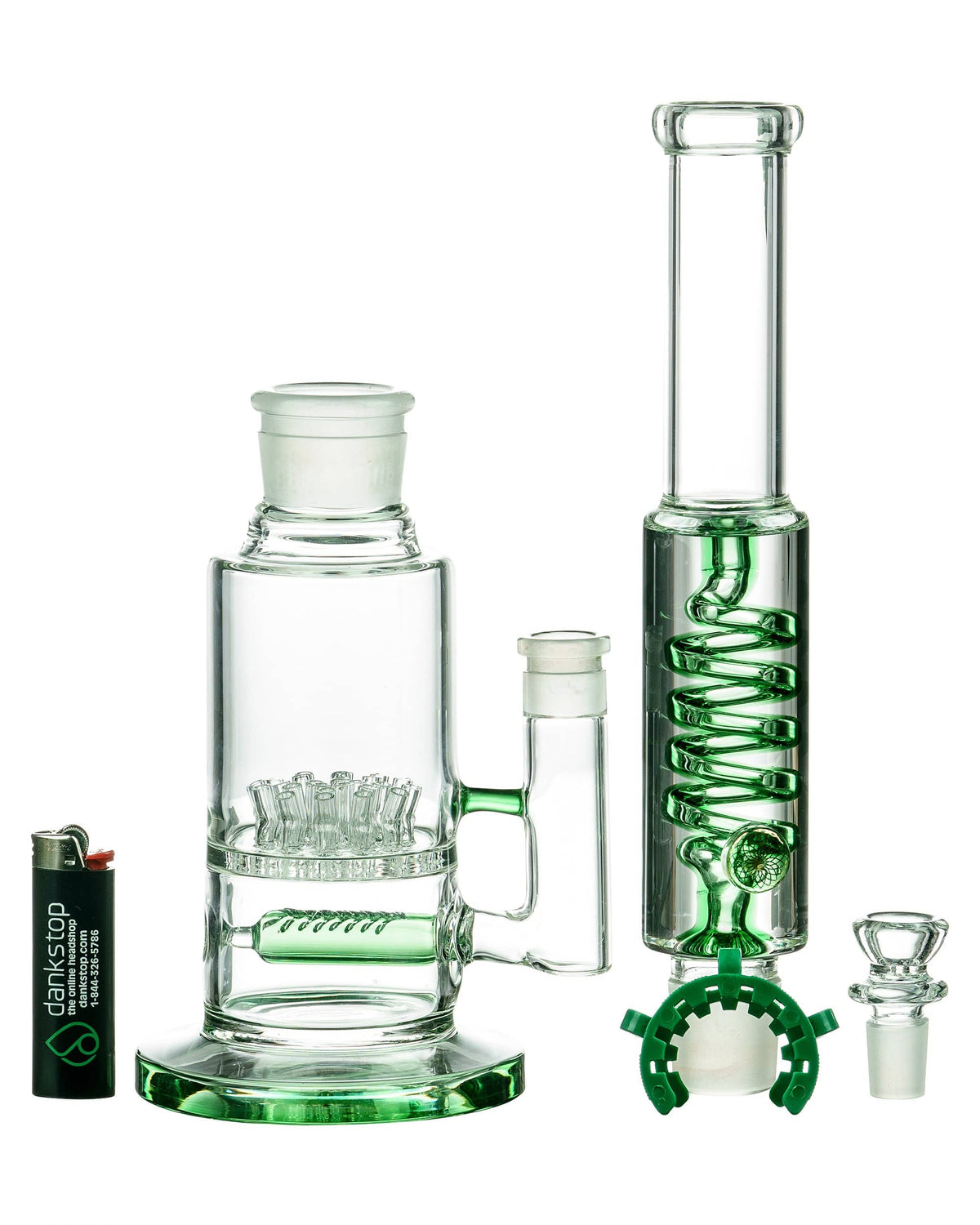 Big Sprinkler to Removable Glycerin Coil Bong