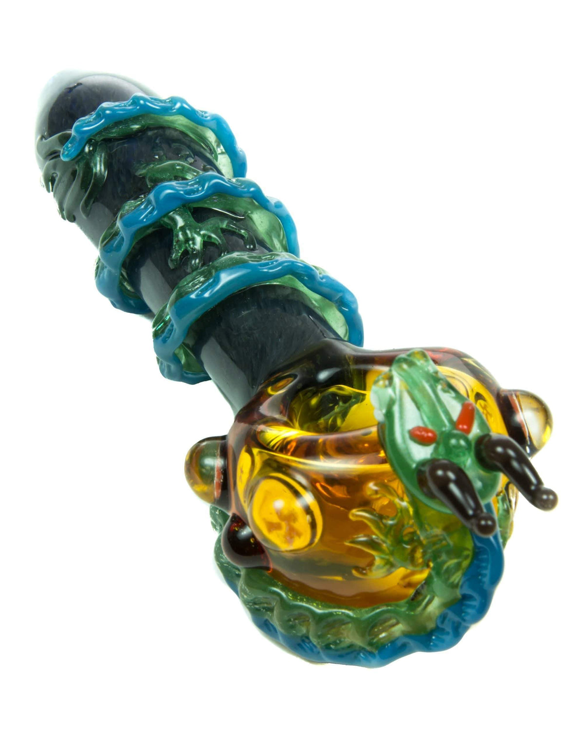 Empire Glassworks - Dragon Themed Mini Spoon Pipe