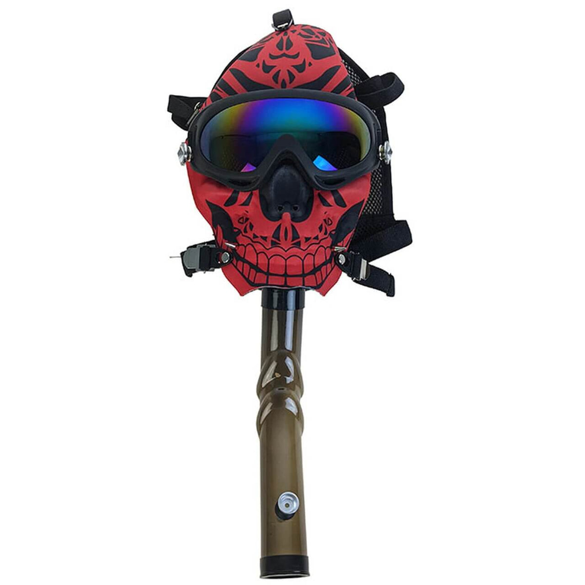 Day of The Dead - Gas Mask Bong