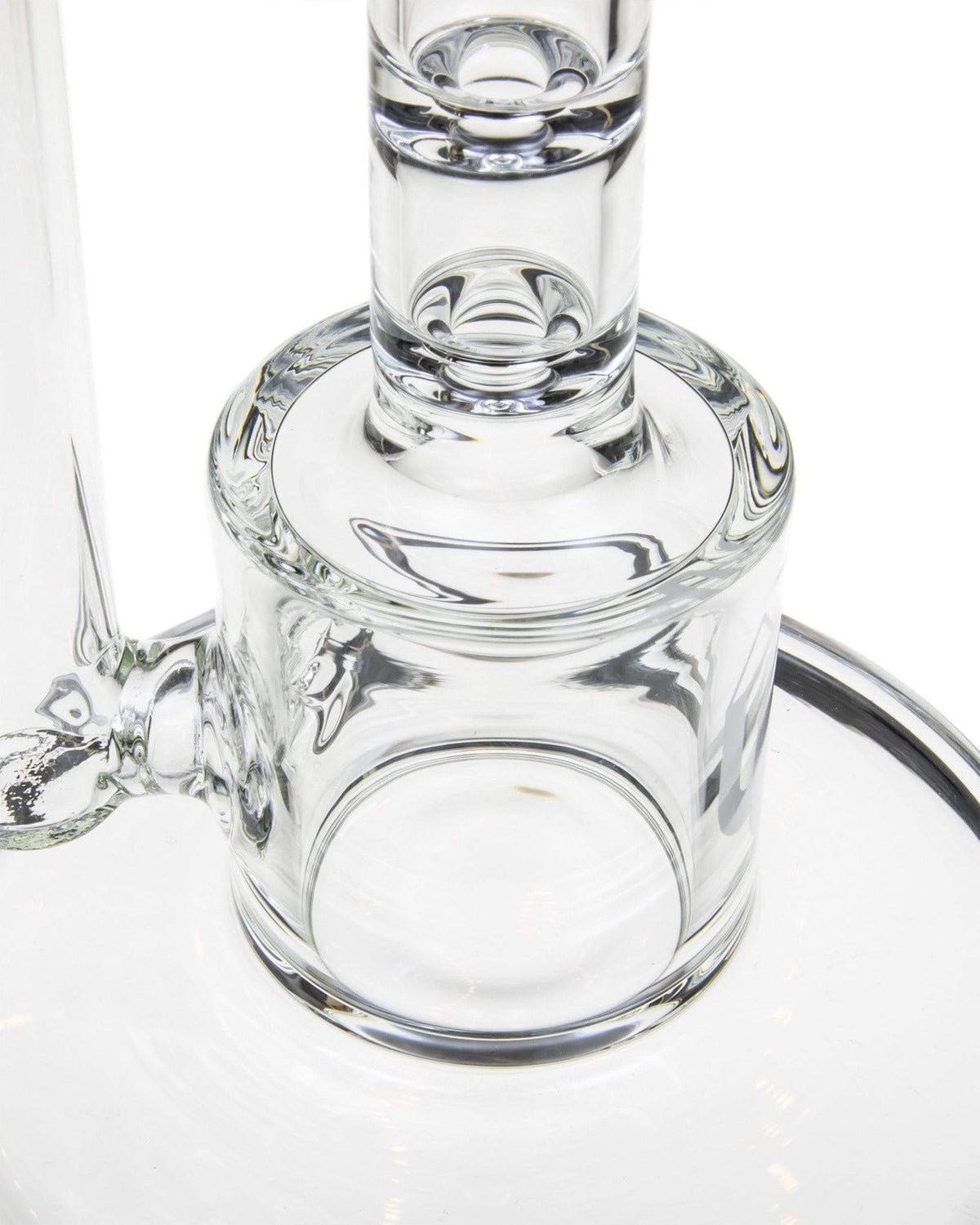 clear glass base