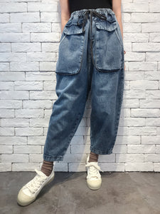 2009058 JF Big Pocket Denim Pants