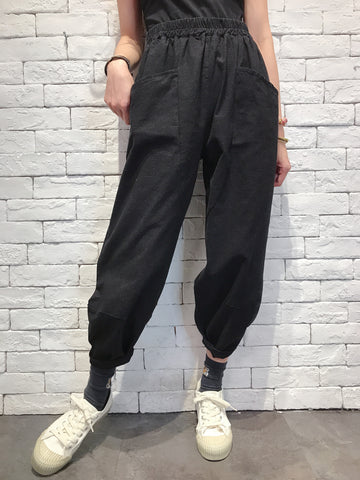 2009085 JP 3D-Cut Pants - BLACK
