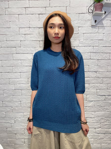 1912093 JP pattern knit top