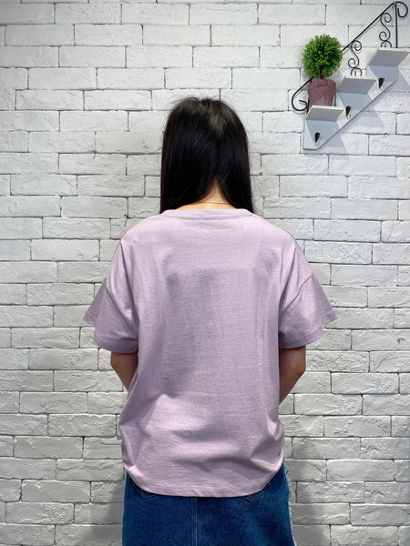 2003036 Cons sneakers tee - PURPLE