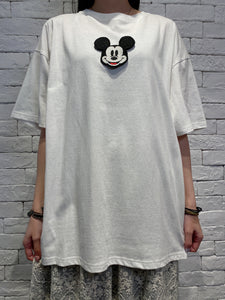 2004138 DIS removable Mickey Mouse tee - WHITE
