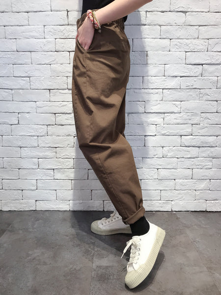 2010015 JF Front Folded Pants - Green