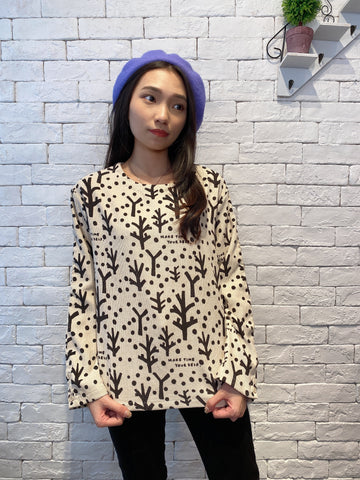 1912015 JP woodland pattern top