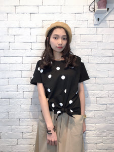 2007043 JF dots top - BLACK