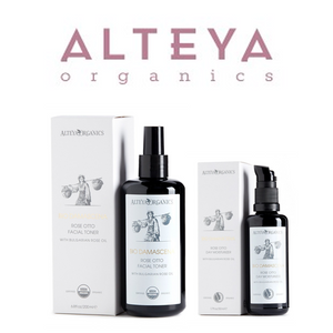 ALSET04 Alteya Bio Damascena Organic Rose Otto Toner and Day Moisturizer (0810) Set 有機奧圖玫瑰日間套裝