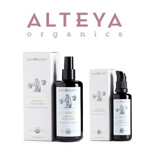 ALSET05 Alteya Bio Damascena Organic Rose Otto Toner and Night Moisturizer (0811) Set 有機奧圖玫瑰晚間套裝