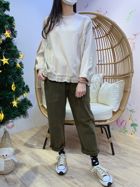 2012142 JF Adjustable Loose Top - Beige