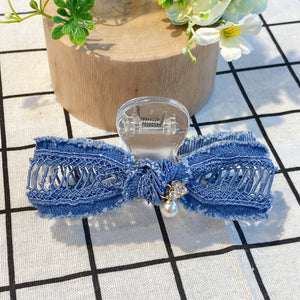 MLHA039 ML Denim Crazy Crab Clip