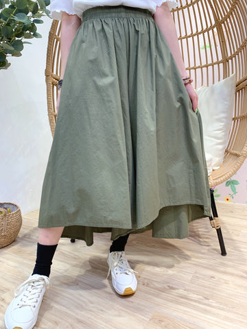 2103059 JP Casual Loose Pants - Green