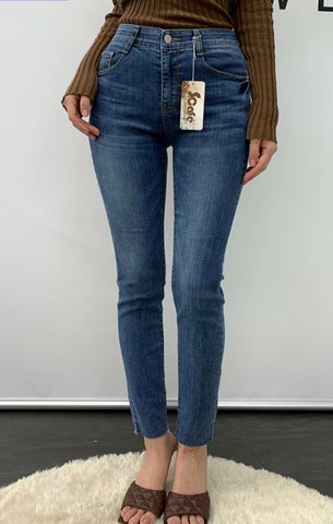 2103092 KR Cool Straight Legs Jeans
