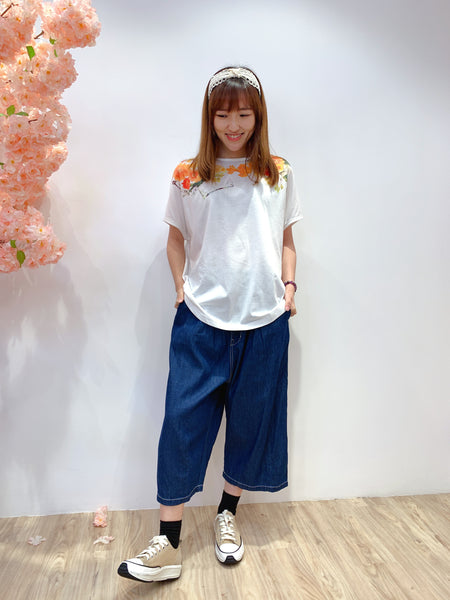 2104125 JP Denim White Lines  Pants