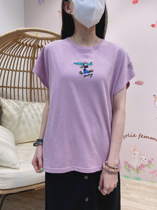 2103072 DIS Sports Mickey Tee - Purple