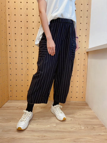 2104105 RR Striped Casual Pants