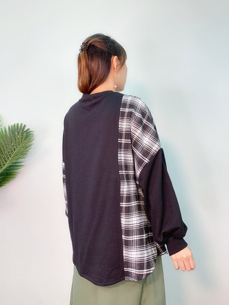 1909117 IF side checked pocket top