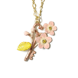 1002NE433 Palnart Poc Sakura Keys Necklace