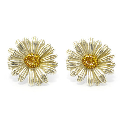 1001PA211SV Marguerite Pierced Earrings
