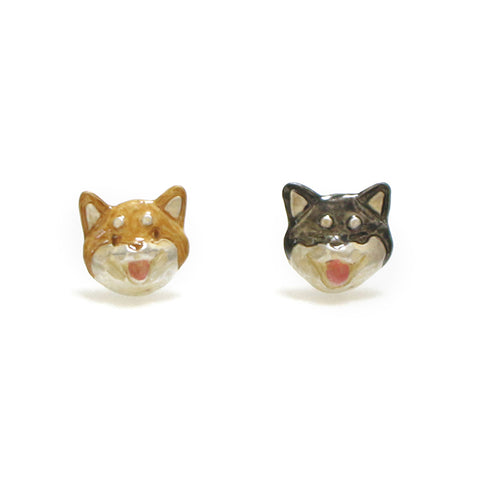 1001PA495 My Shiba Inu Earrings