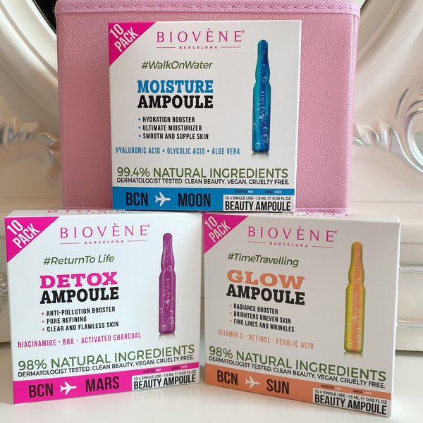 SBIO001 Biovene assorted ampoule set 安瓶精華液組合套裝