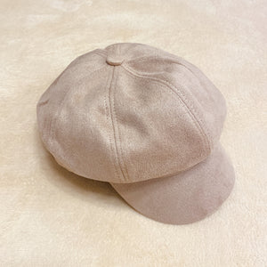 2010081 JF Autumn Newsboy Cap - BEIGE