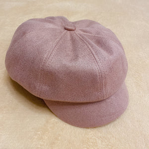 2010081 JF Autumn Newsboy Cap - PINK
