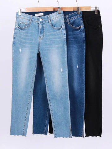 2004079 HL lower cuts skinny Jeans