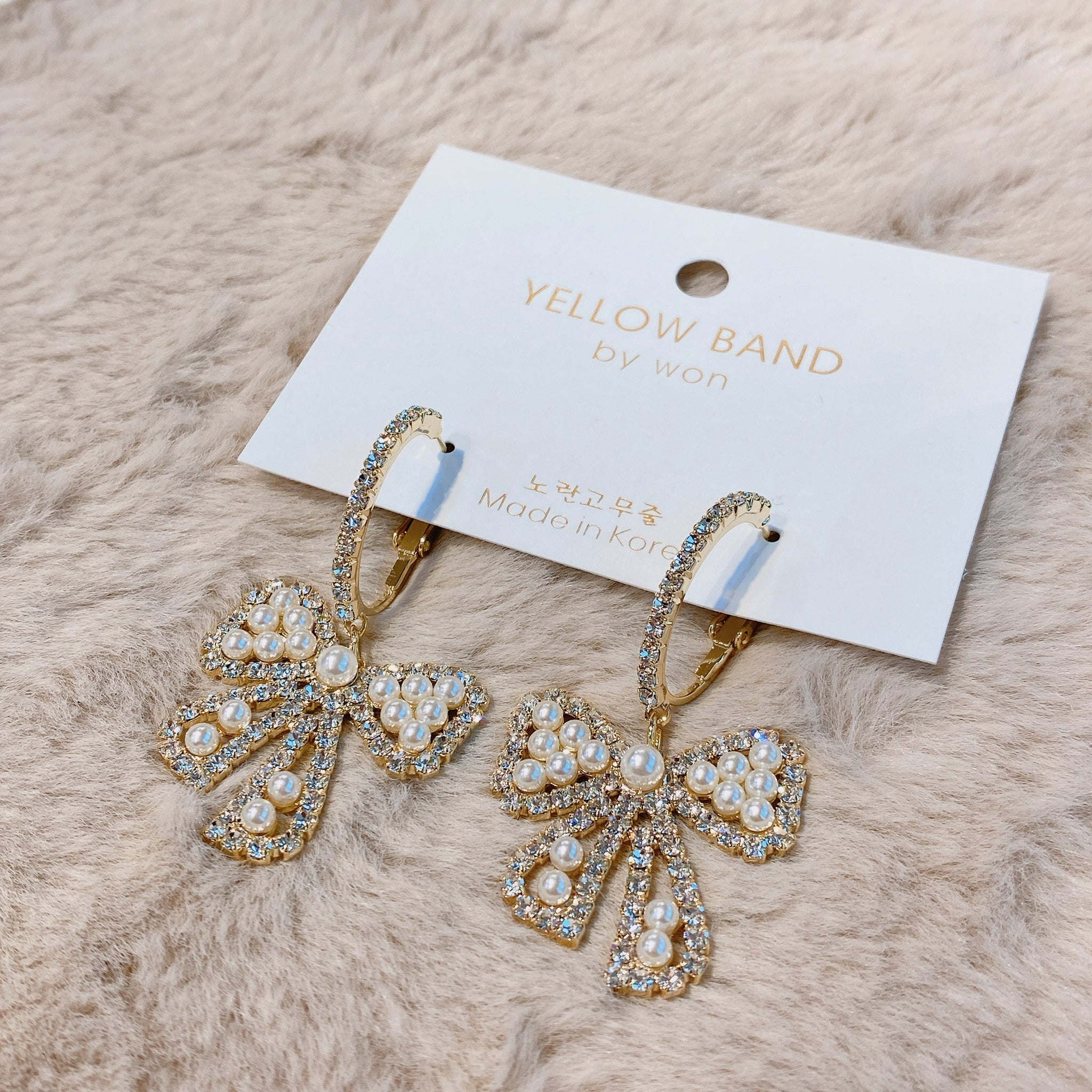 YBPA009  YB Fancy Ribbon Earrings