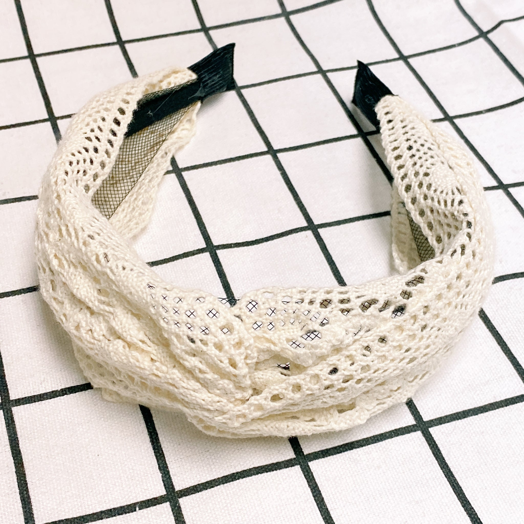 MLHA014 ML Lace Knot Headband