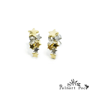 1001PA116 Palnart Poc - Stardust Pierced Earrings