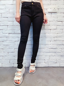 1909057 VI Stretchable black pants