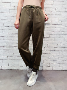 1910015 DD patchwork jogger pants