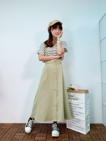 1905041 CC suspender buttons skirt