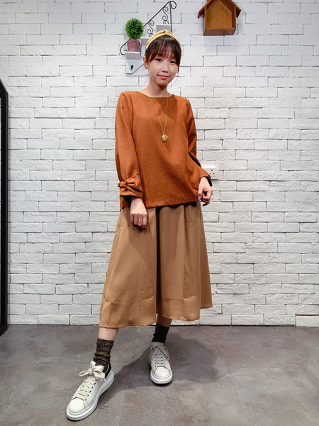 1909075 INC waist ribbon skirt