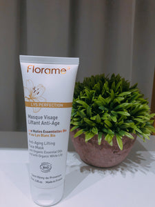 FL001 FLORAME Organic Lys Perfection Anti Aging Lifting Face Mask