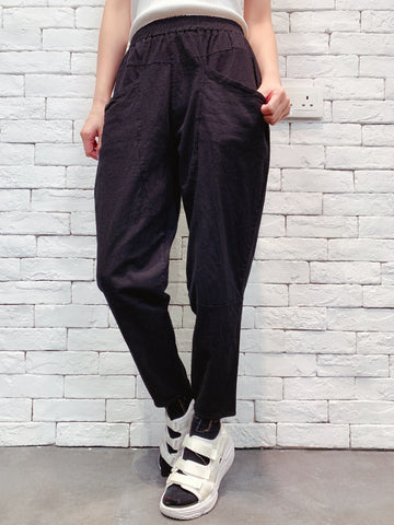 1909007 JF colour tapered pants