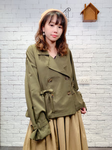 1910069 RO short trench coat