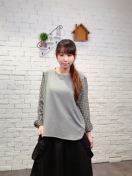 1910005 JF check sleeves top